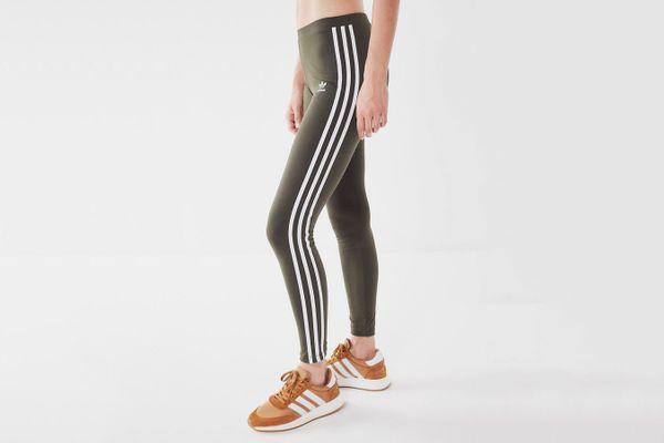 Adidas Originals 3-Stripe Mid-Rise Leggings