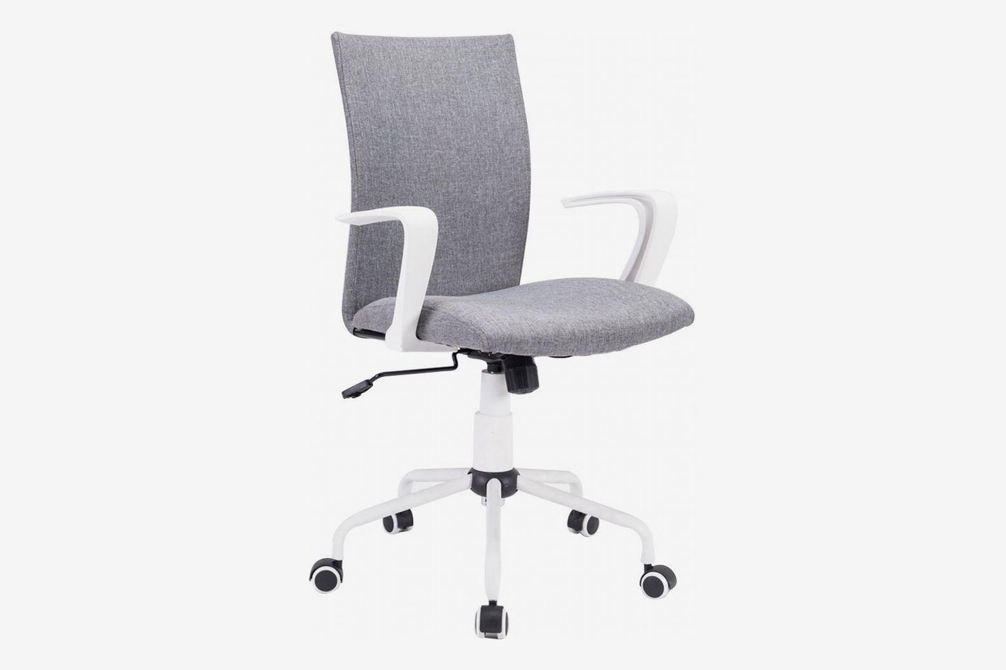 DJ Wang Grey Modern Office Chair