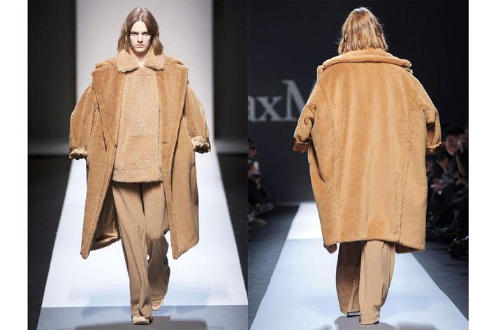 Max Mara's coat.