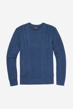 Bonobos Cotton Cashmere Cable Crew Neck Sweater