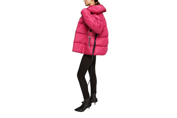 Mango Ring Oversize Quilted Coat