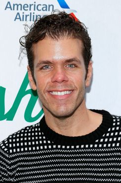 "Media personality Perez Hilton attends the ""Big Fish"" Broadway Opening Night After Party at Roseland Ballroom on October 6, 2013 in New York City."