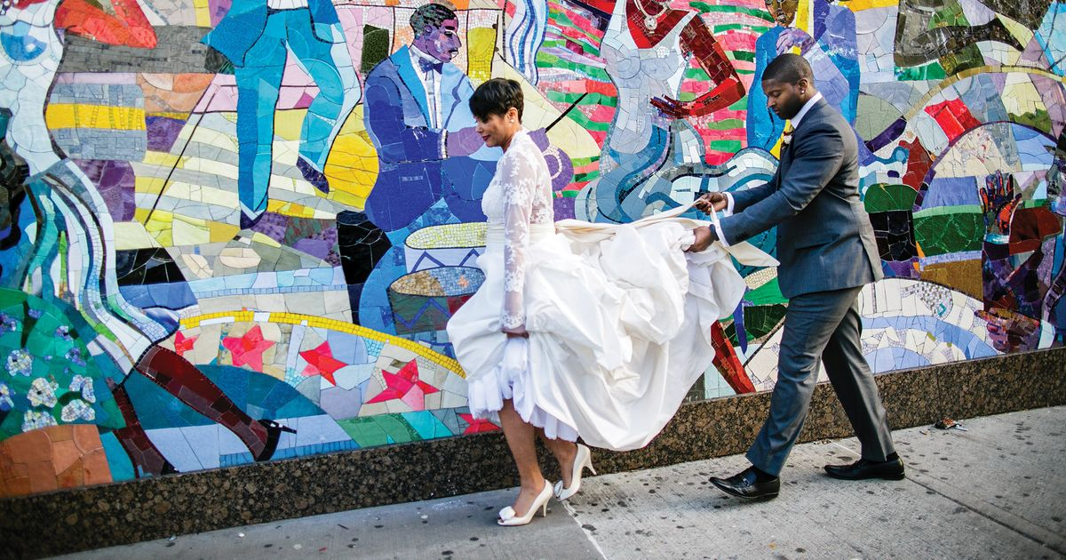 Nymag Real Weddings: Real Wedding Album: A Cozy Dinner In Harlem -- The Cut