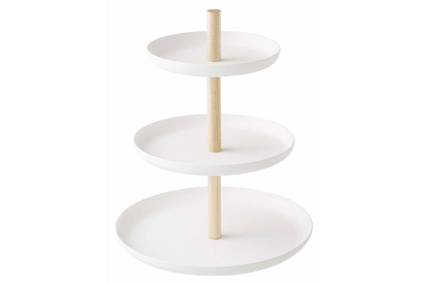 Yamazaki Home Tosca 2-Tier Cake Stand