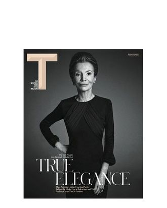 Lee Radziwill, shot by Mario Sorrenti for T magazine.