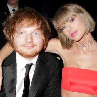 Ed sheeran not dating taylor swift 5