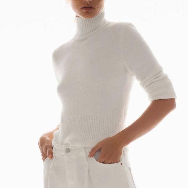 Zara Soft Feel Knit Sweater