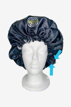 Curl Daze No-Slip Extra Large Satin Bonnet with Drawstring