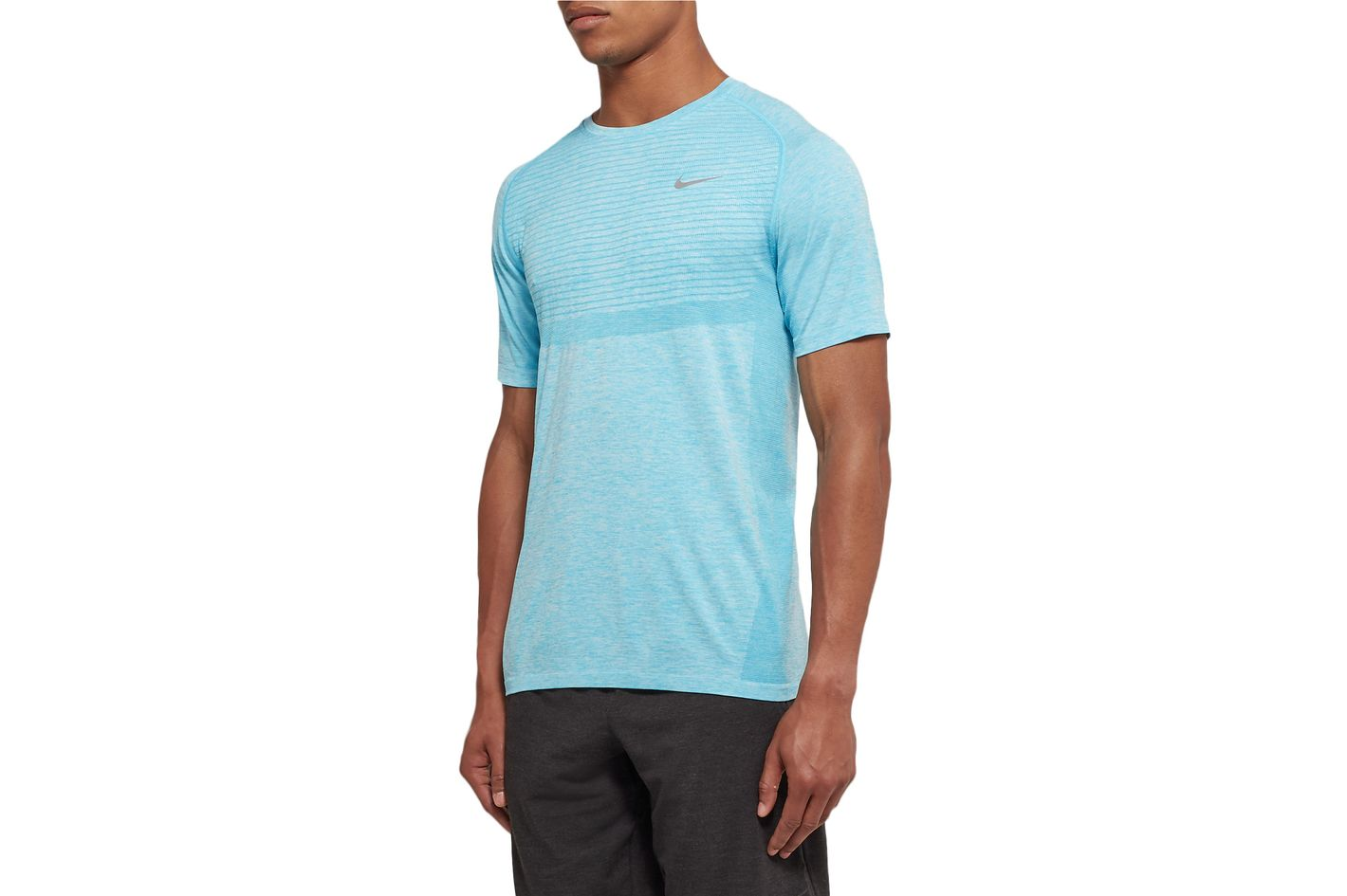 Nike Running Melange Knitted Dri-Fit T-Shirt