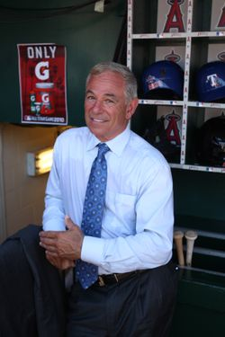 ANAHEIM, CA - JULY 13: ESPN's Bobby Valentine standing in the dugout prior to the 81st MLB All-Star Game at Angel Stadium of Anaheim on July 13, 2010 in Anaheim, California. NL defeated AL  3-1. (Photo by Michael Zagaris/Getty Images)