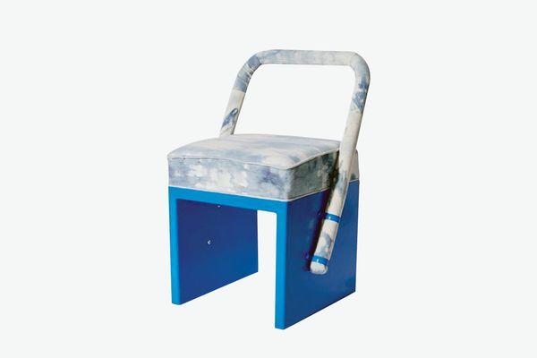 LikeMindedObjects Bleached Denim Chair
