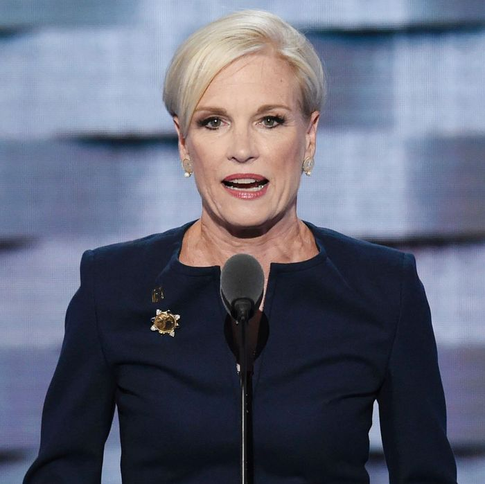 Cecile Richards speaks at the DNC.