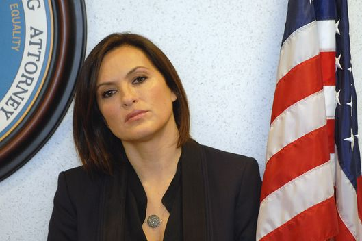 Mariska Hargitay , Law and Order actor and Joyful Heart Foundation founder and president, attends the Sexual Assault Kit Evidence Submission Act press conference at Frank Murphy Hall of Justice on March 10, 2014 in Detroit.