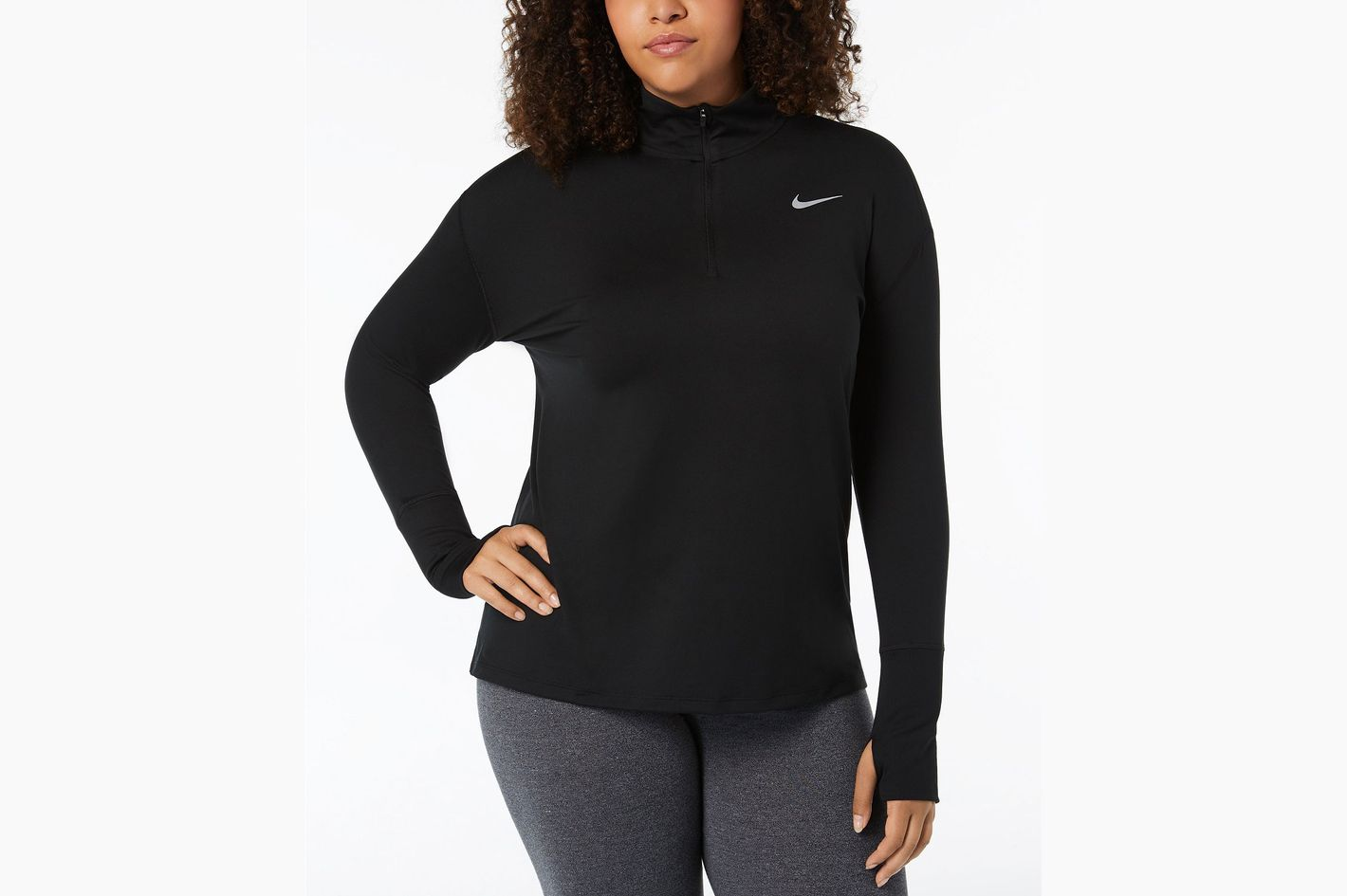 938ea2085dd1 Nike Element Plus Size Running Top