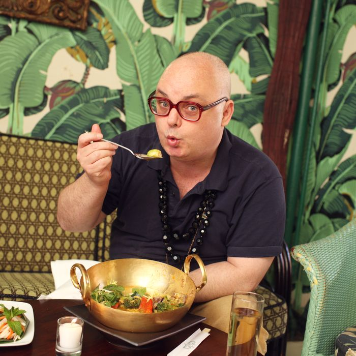 Mickey at Indochine, where he tells the owners,