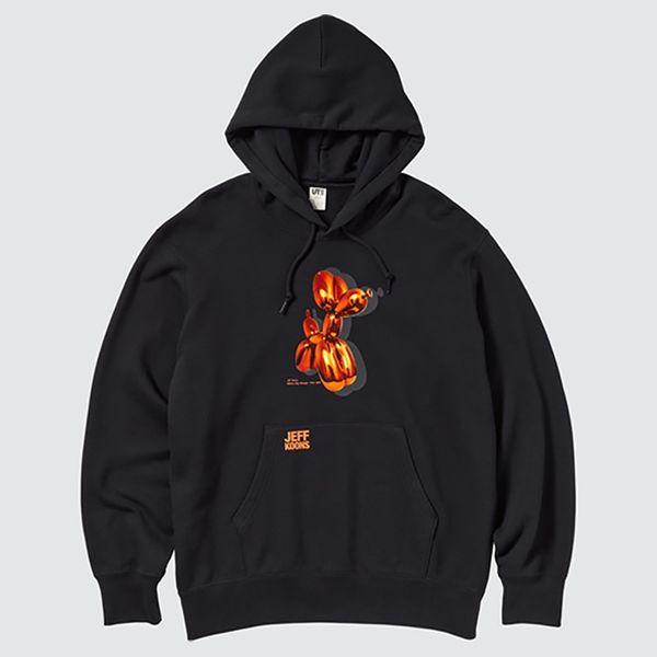 Uniqlo UT x Jeff Koons Long-Sleeved Sweat Pullover Hoodie