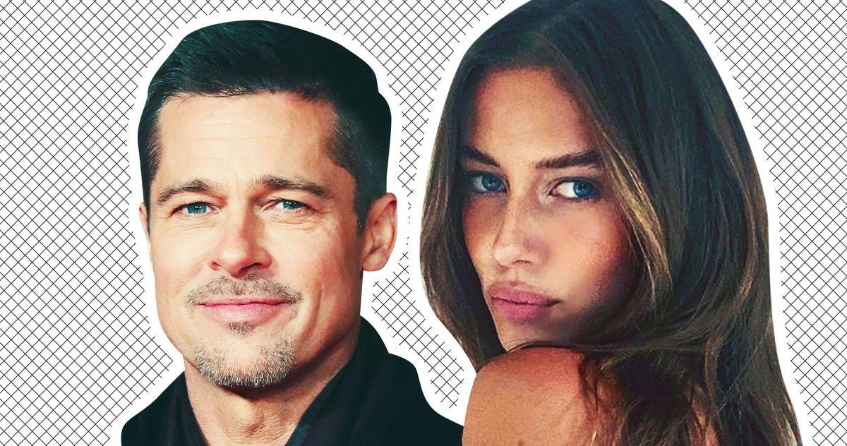 Brad Pitt Spotted With New Girlfriend Nicole Poturalksi