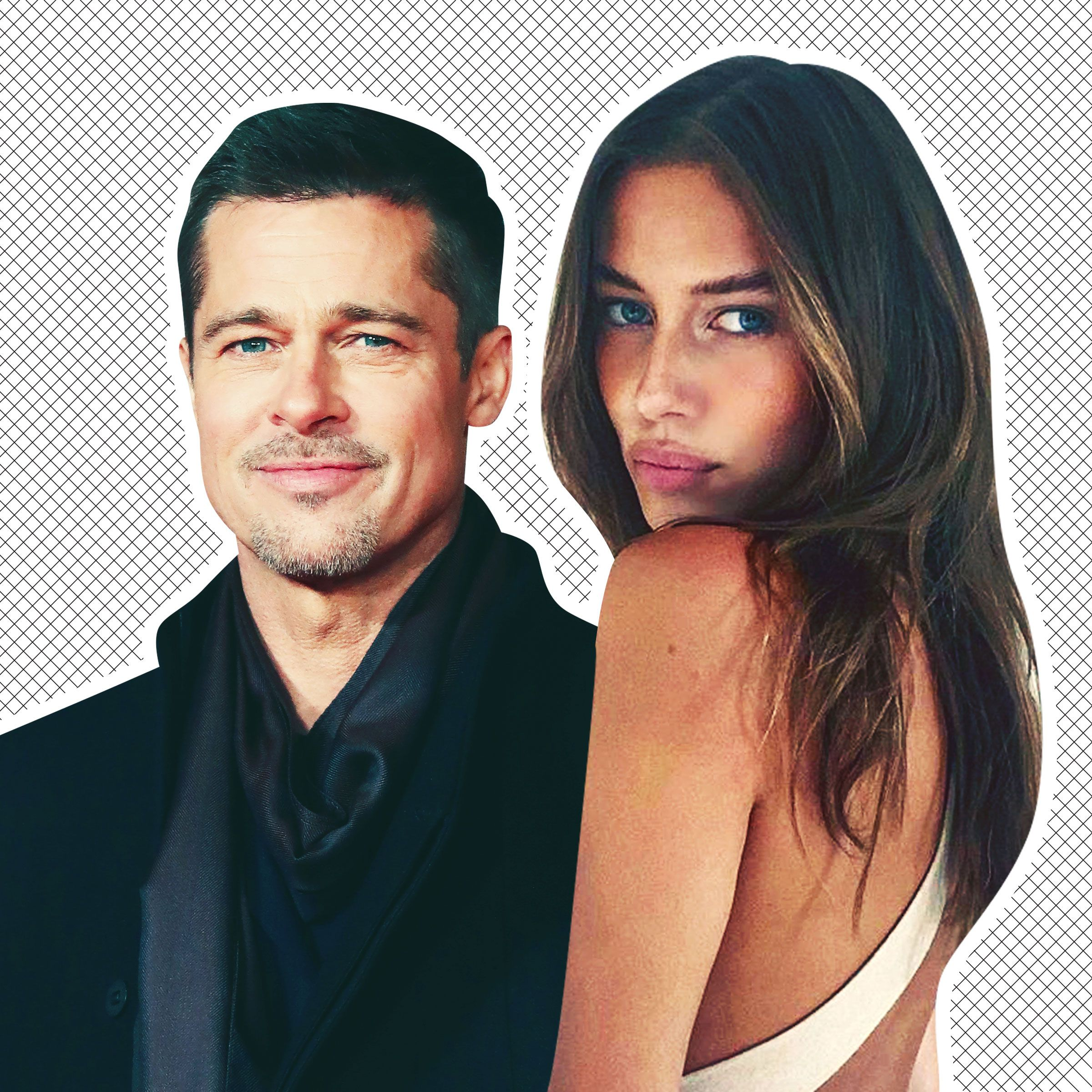 Brad Pitt Spotted With New Girlfriend Nicole Poturalksi