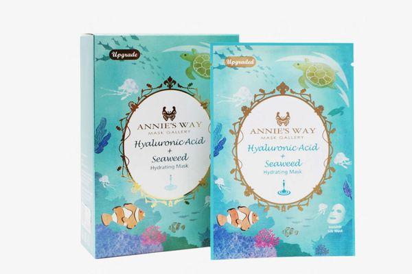 Annie's Way Hyaluronic Acid + Seaweed Hydrating Sheet Mask