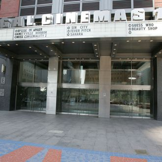 Preparations For The Tribeca Film Festival
