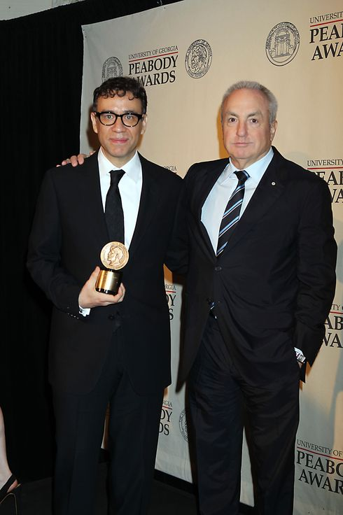 71st Annual Peabody Awards at The Waldorf Astoria in NYC Hosted by Sir Patrick Stewart - Pictured: Fred Armison, Lorne Michaels