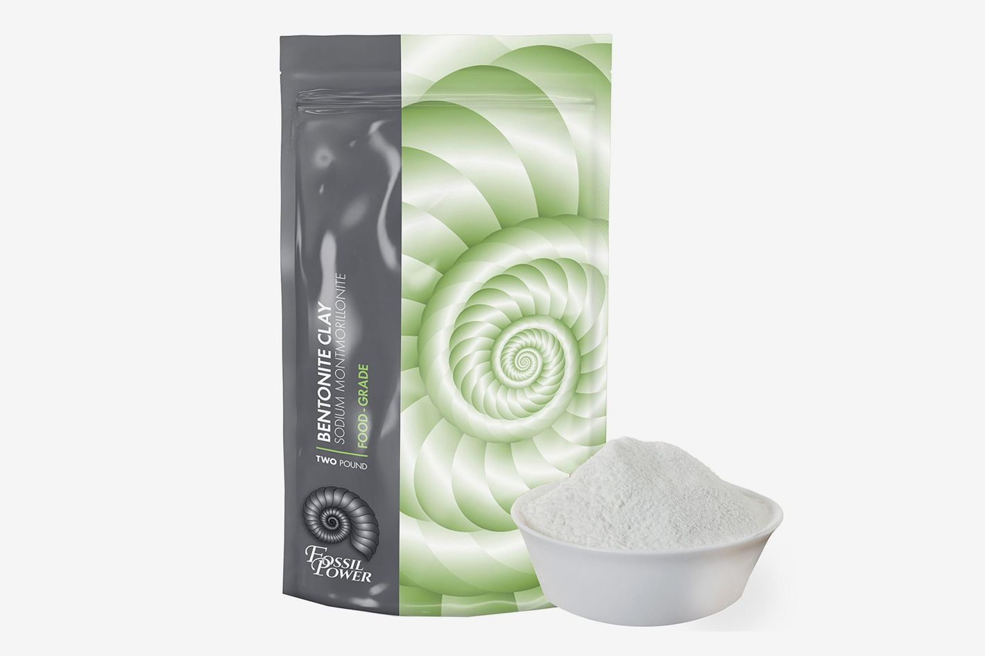 Bentonite Clay Food Grade Powder, 2 pounds