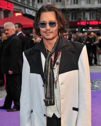 Actor Johnny Depp attends the