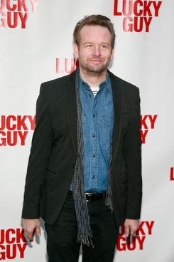 "Dallas Roberts==Opening Night Arrivals for ""Lucky Guy""==Broadhurst Theatre, NYC==April 01, 2013==?Patrick Mcmullan==photo-Sylvain Gaboury/PatrickMcmullan.com===="
