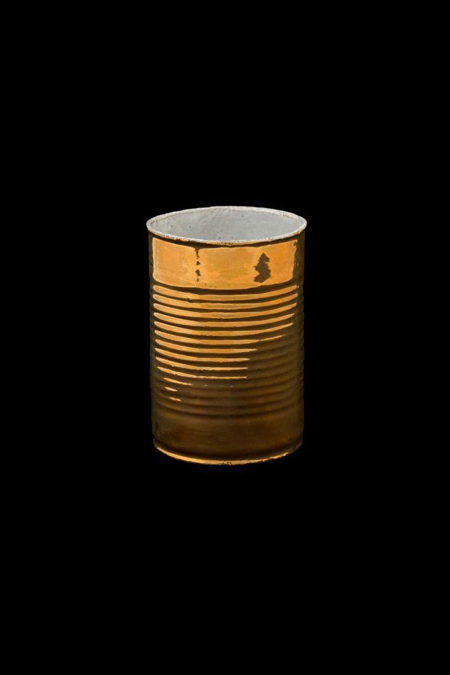 Astier de Villatte Conserve Golden Mini Vase