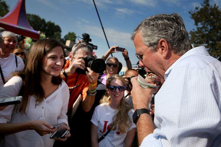 Presidential Candidates Stump At Iowa State Fair