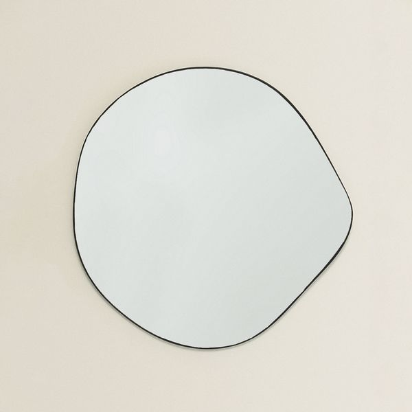 Zara Home Large Irregular Mirror