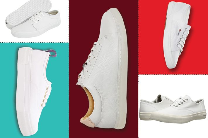 Not The Same Pair Of Shoes Mind You But Kind White Nondescript Low Tops With Chunky Heels Men S