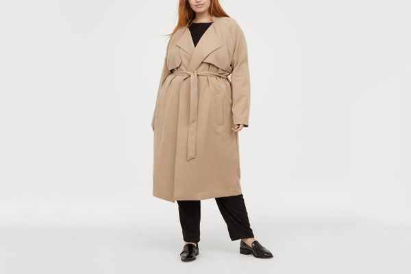 H&M+ Soft Trenchcoat