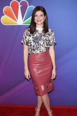 "NEW YORK, NY - MAY 12: Actress Casey Wilson from ""Marry Me"" attends the 2014 NBC Upfront Presentation at The Jacob K. Javits Convention Center on May 12, 2014 in New York City.  (Photo by Jim Spellman/WireImage)"