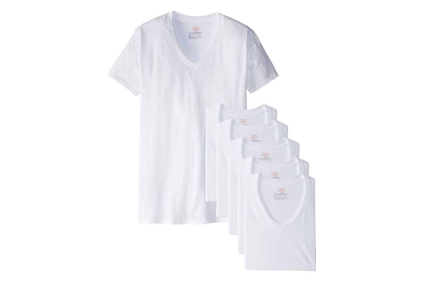 Black t shirt v shape -  The Best White Tee Has Been A Hotly Debated Topic Among My Friends As A Skinny Dude I Ve Been Loyal To The Small Hanes V Neck For Years
