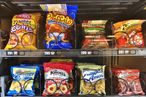 FDA to Require Calorie Counts on Snack Vending Machines