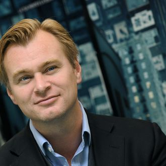British director Christopher Nolan poses during the photocall for his movie