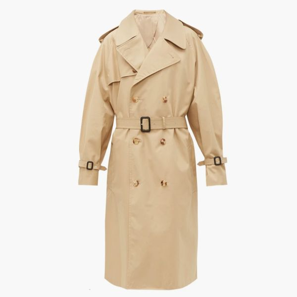 Wardrobe.NYC Release 04 Double-Breasted Cotton Trench Coat
