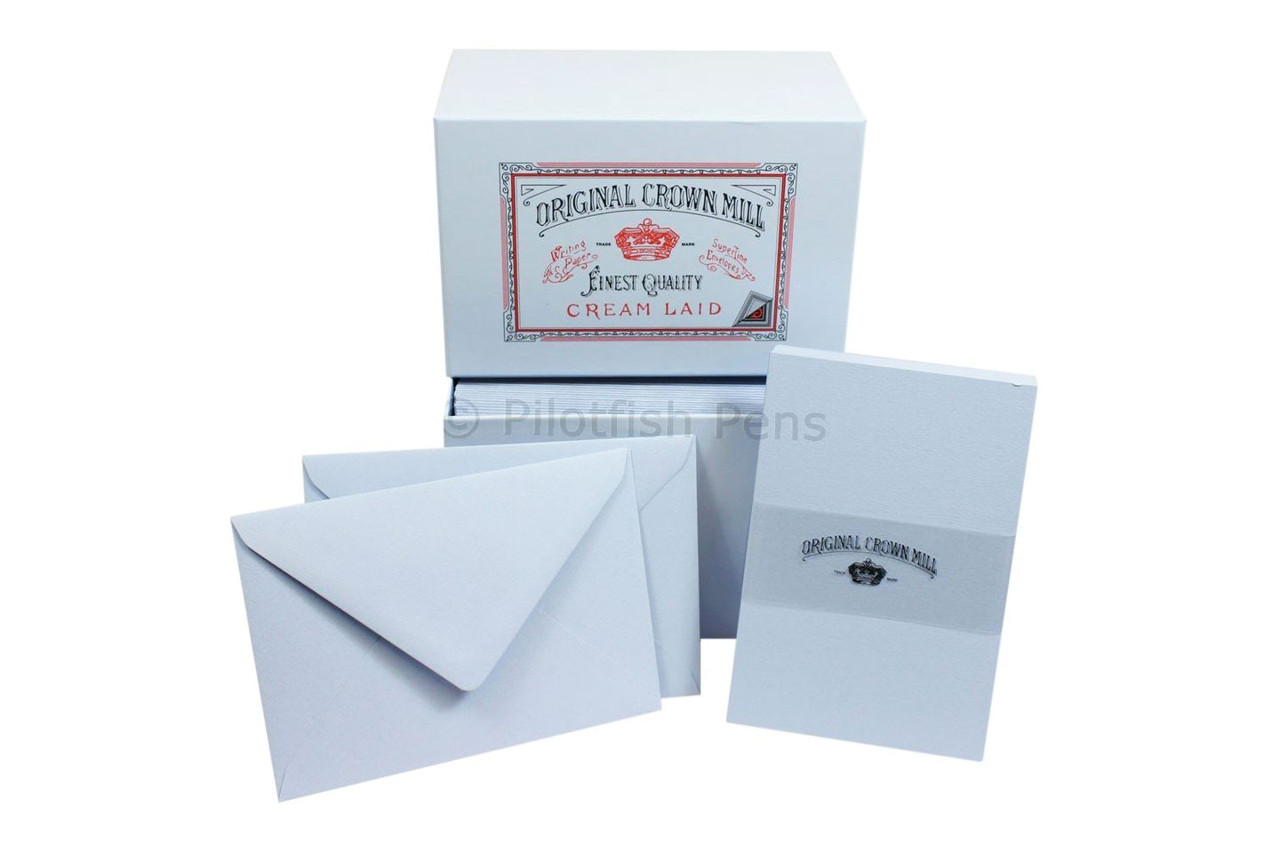 Crown Mill Stationery Set