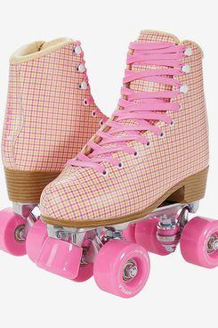 Impala Quad Skate, Pink Tartan