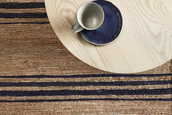 Armadillo & Co River Ticking Stripe Rug