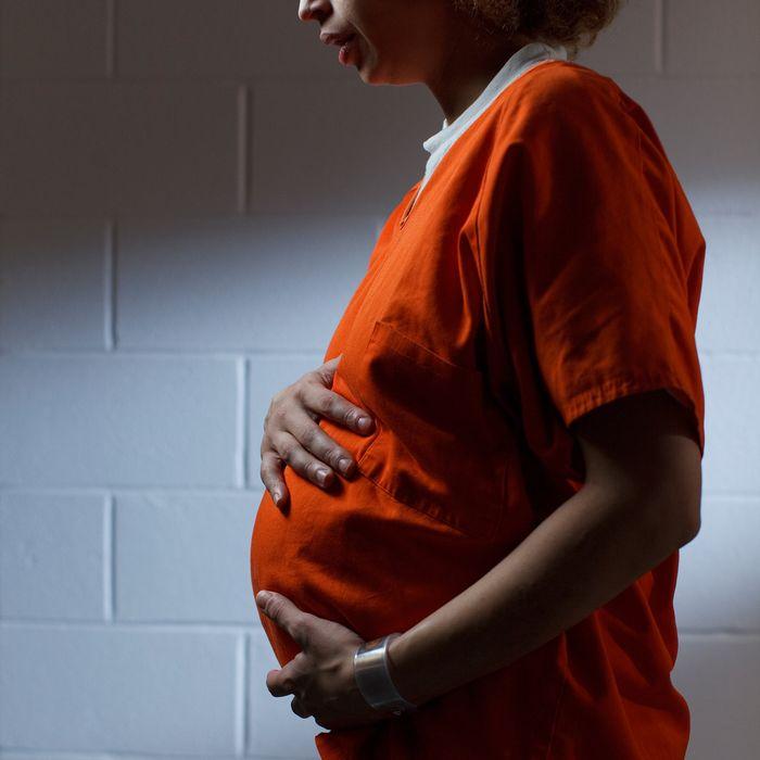 pregnant inmate
