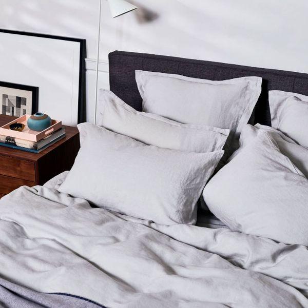 Snowe Linen Sheet Set