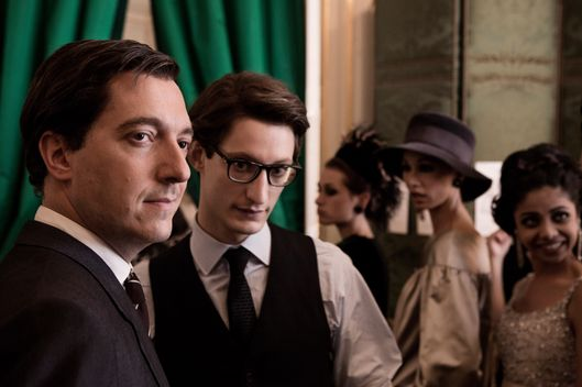 GUILLAUME GALLIENNE and PIERRE NINEY star in YVES SAINT LAURENT