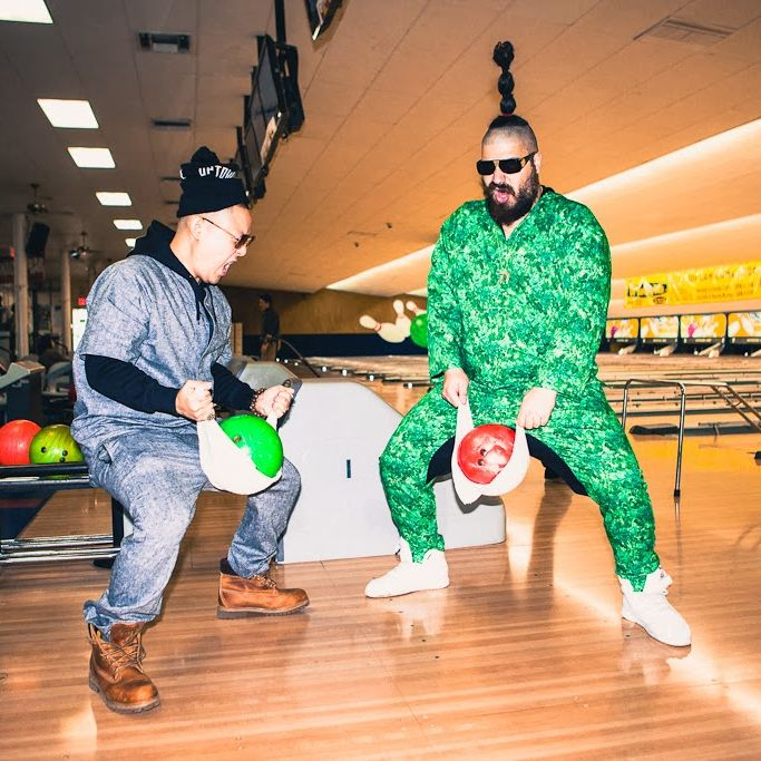 The lookbook features the Fat Jew.