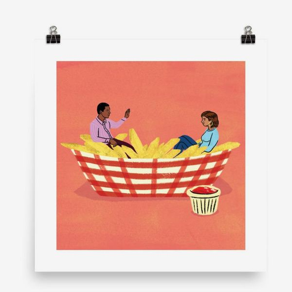 Daniel Fishel, 'Flirting and Fries'