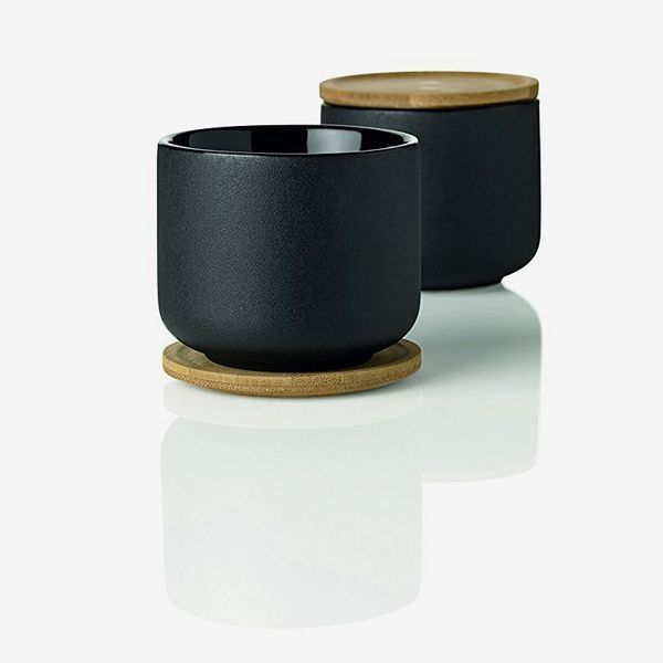 Stelton Theo Tea Mug With Coaster, Cup