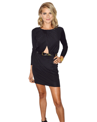 Actress Eliza Coupe arrives to The Paley Center For Media's An Evening With