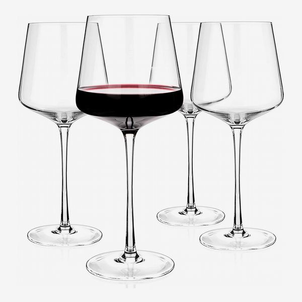 Luxbe Crystal Wineglasses