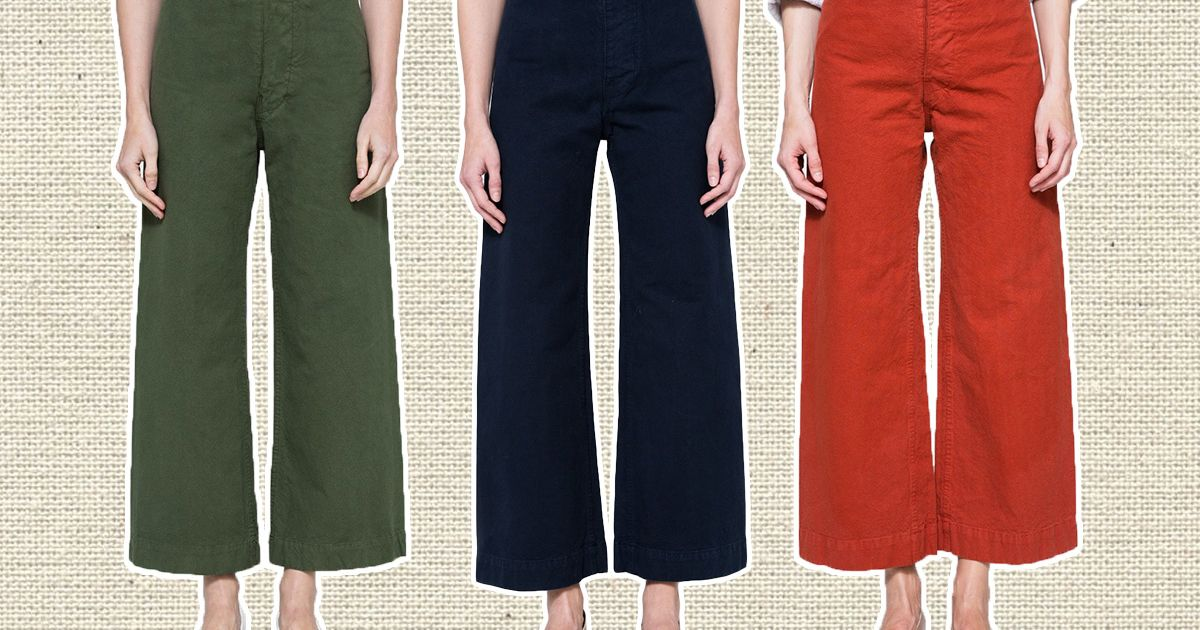 9e5a7d86c35 The Best Wide-Leg Cropped Pants Are From Jesse Kamm